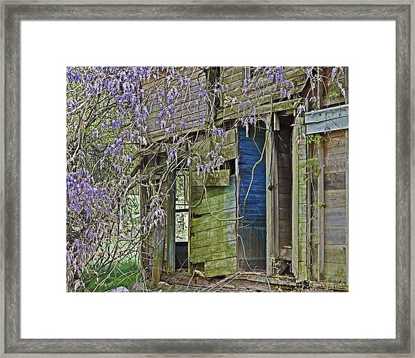 Old Abandoned House Framed Print