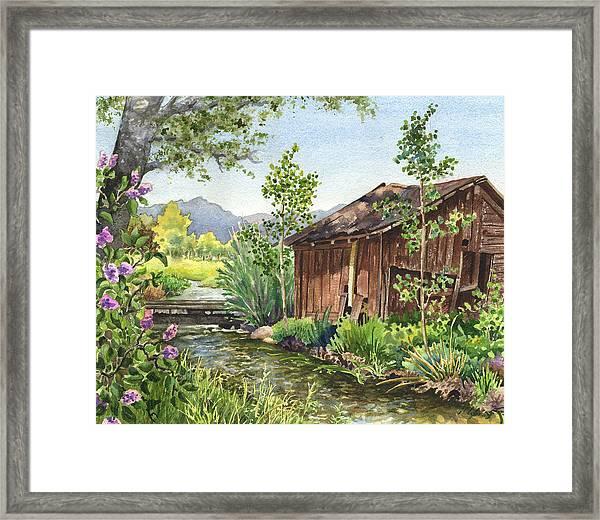 Old Braley Barn Framed Print