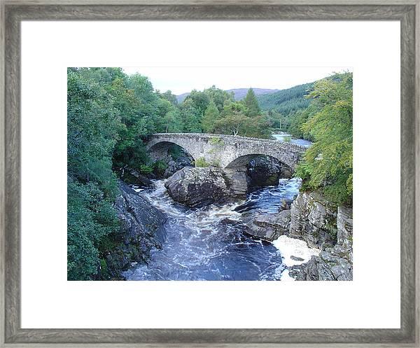 Old Bridge At Invermoriston Framed Print