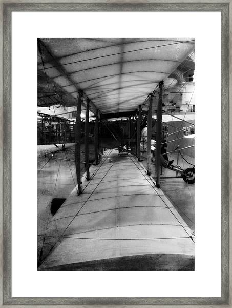 Old Flight Framed Print