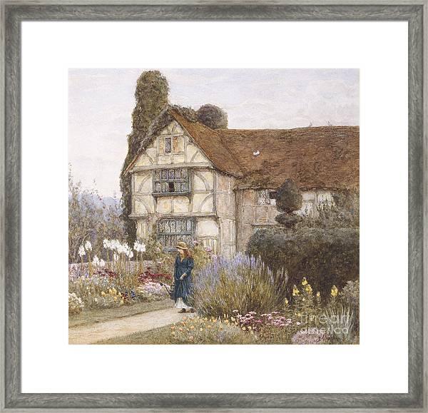 Old Manor House Framed Print