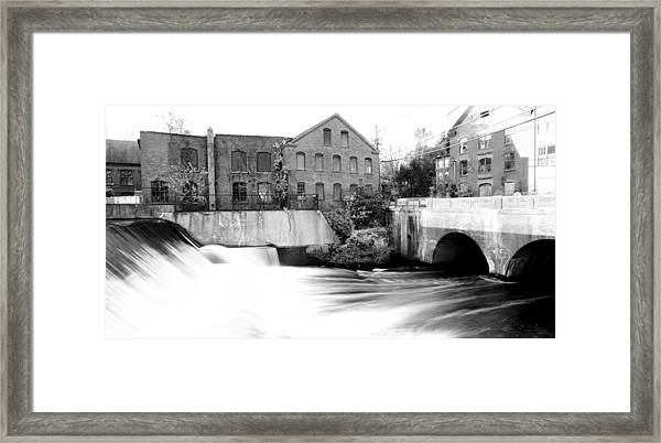 Old New England Mill Framed Print