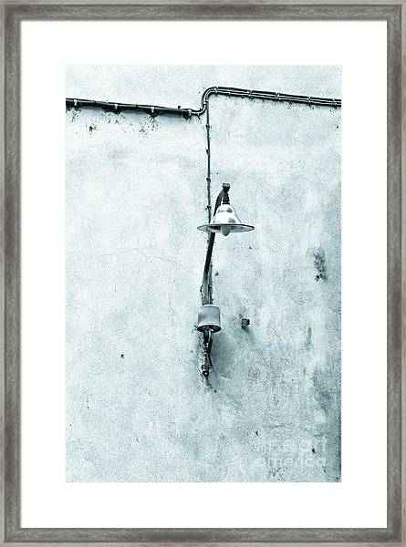 Old Street Lamp Framed Print