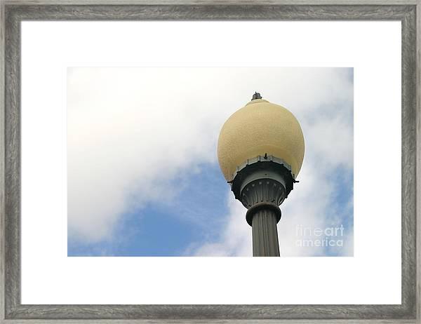 Old Street Light Framed Print