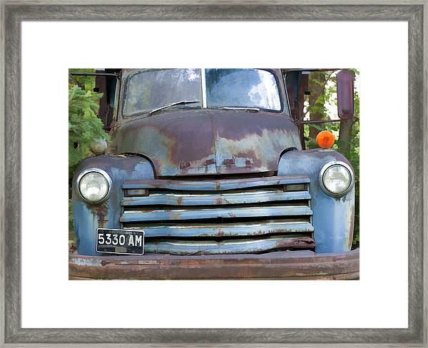 Old Truck I Framed Print
