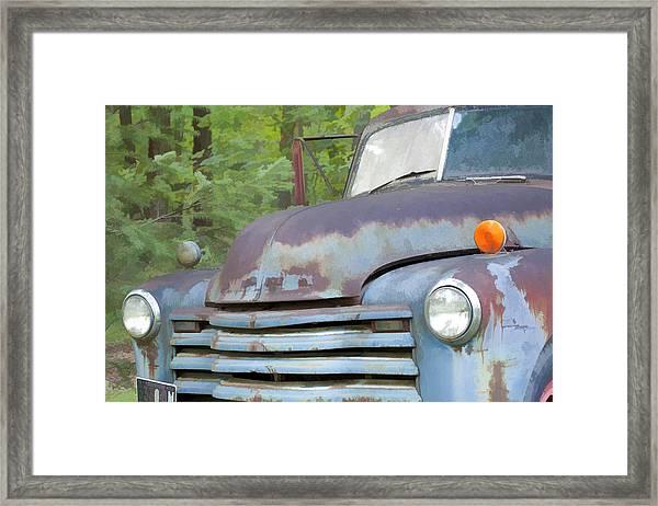 Old Truck IIi Framed Print