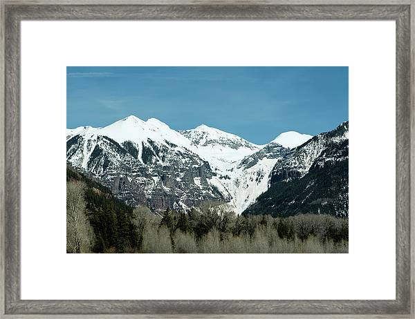 Framed Print featuring the photograph On The Road To Telluride by Lorraine Devon Wilke