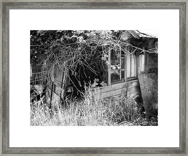 Once A Castle Framed Print