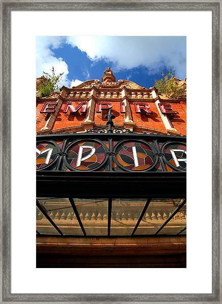 Once Was An Empire Framed Print by Jez C Self