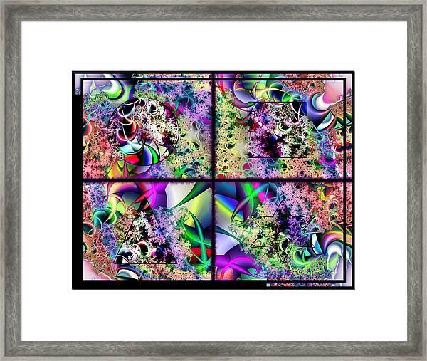 One Weirdass Design Framed Print
