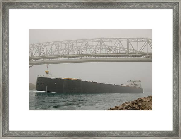 Only A Stones Throw Away Framed Print