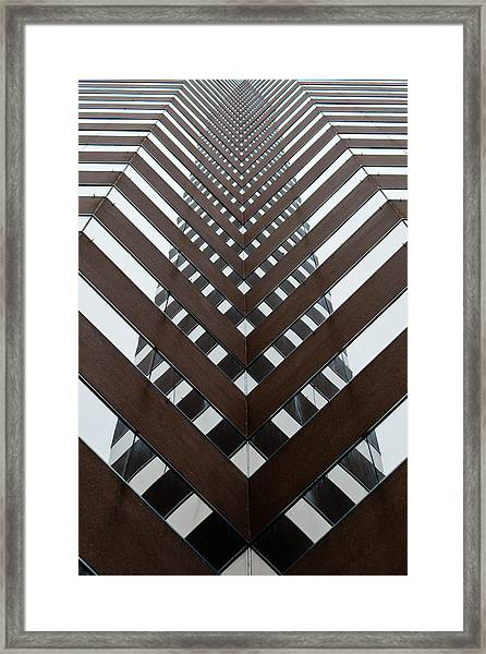 Optical Illusion Framed Print