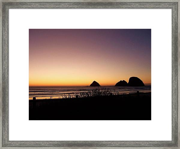 Oregon Coast 16 Framed Print