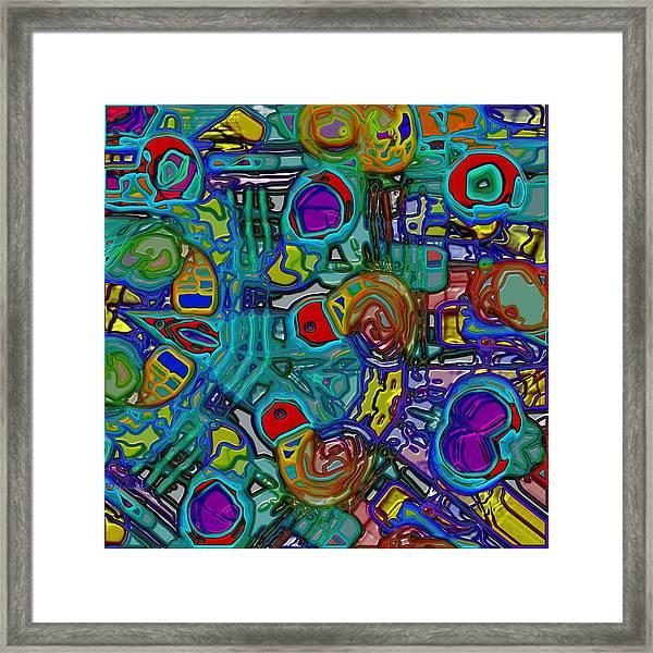 Organized Chaos Framed Print