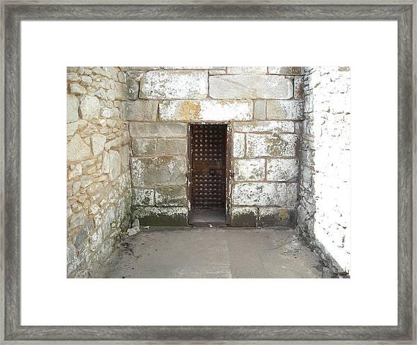 Outdoor Cell Framed Print
