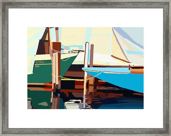Oxford Harbor Framed Print