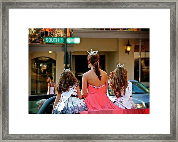 Pageant South Framed Print