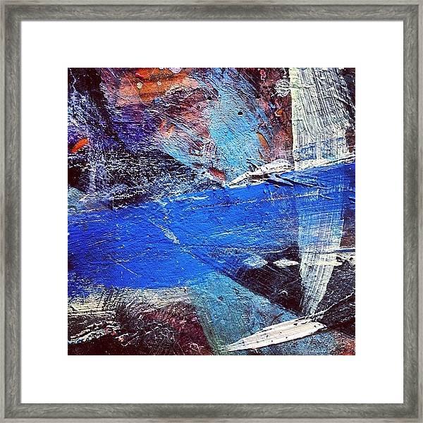 Paint Table 4 Framed Print