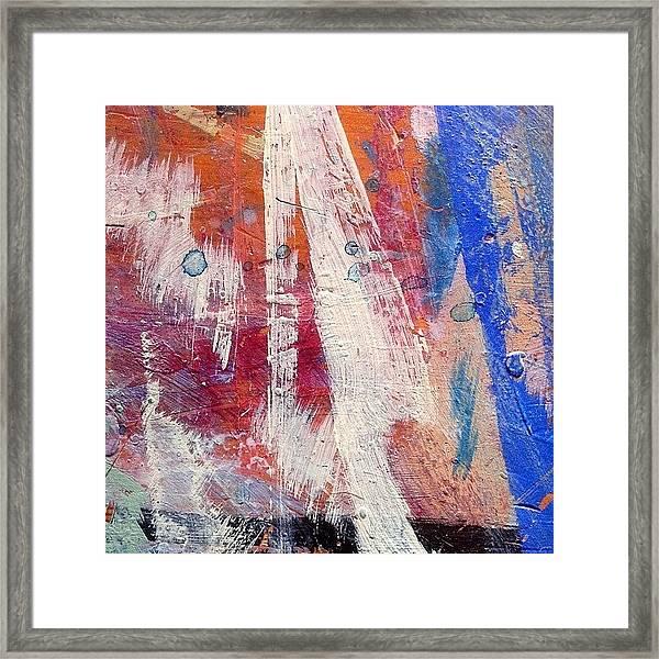 Paint Table 5 Framed Print