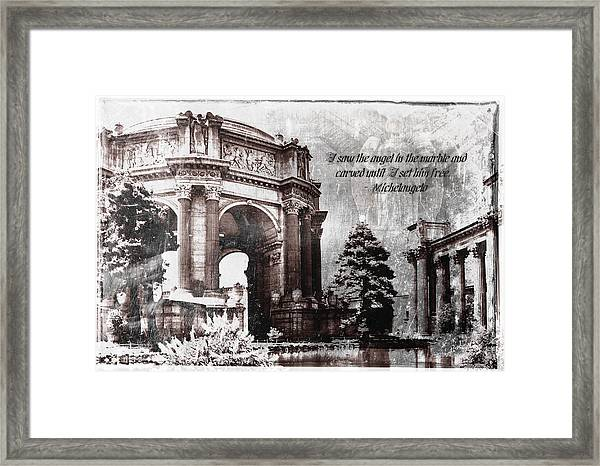 Palace Of Fine Arts Rotunda Framed Print