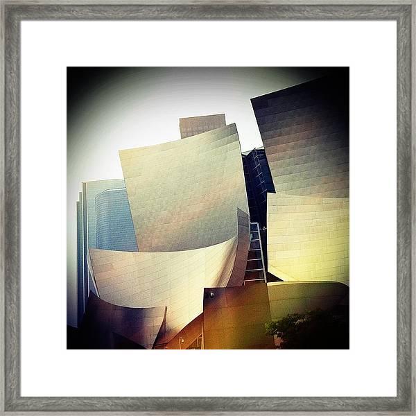 Paper Shapes Framed Print
