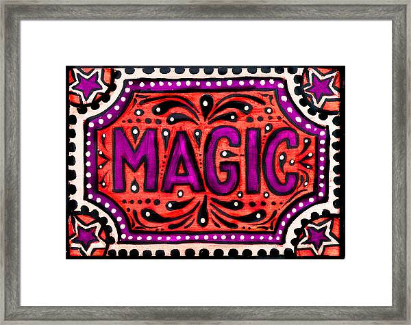 Party Magic  Framed Print