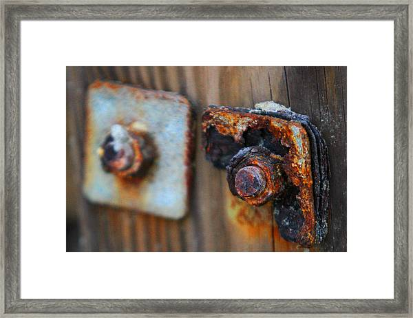 Pass Of Time Framed Print