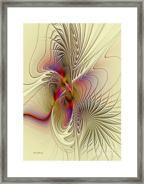 Passions And Desires Framed Print