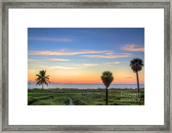 Pastel Dawn Framed Print by William Wetmore