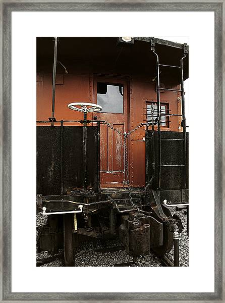 Pere Marquette Caboose Framed Print