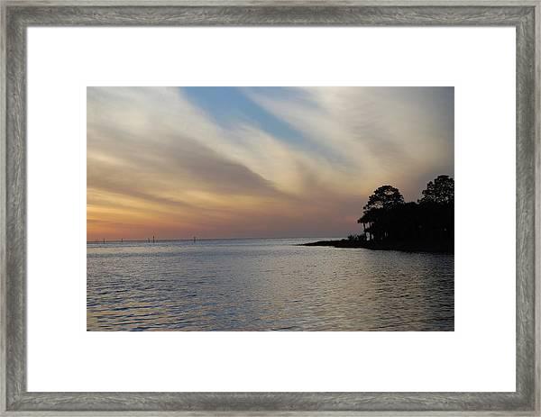 Perfect Florida Finish Framed Print
