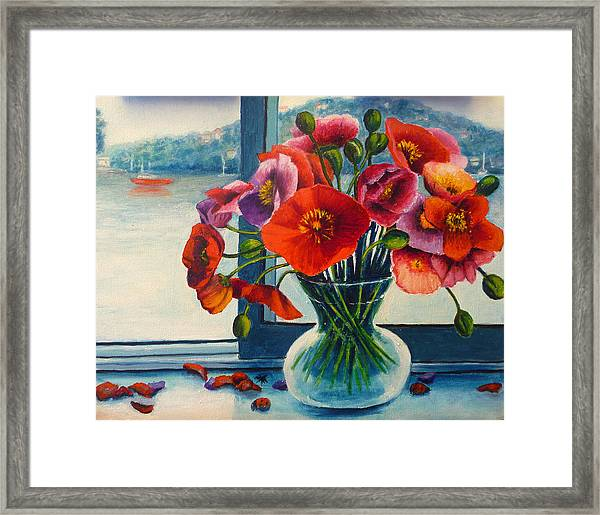 Perfect Poppies Framed Print