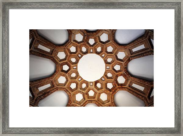 Perfect Symmetry Framed Print