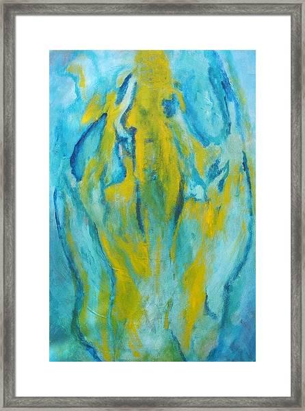 Phoenix Rising Framed Print by Bebe Brookman
