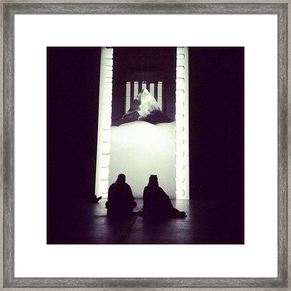 Photo Of Instillation At #tate #modern Framed Print