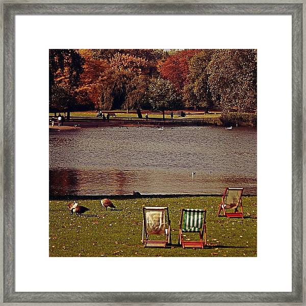 #photooftheday #london #regentspark Framed Print