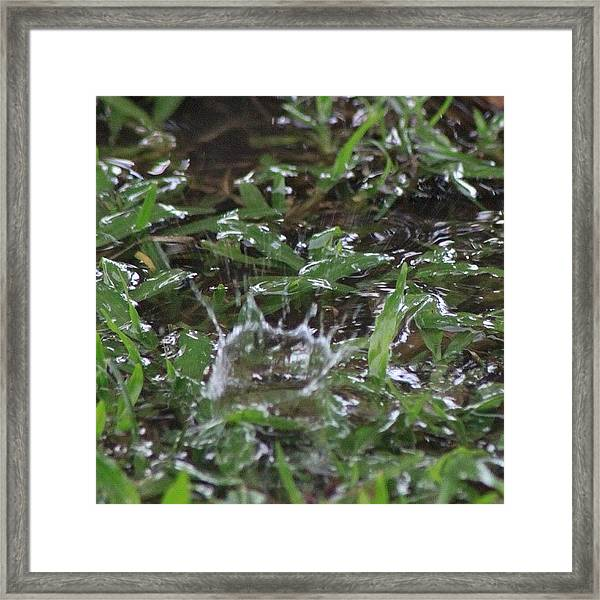 Photos Of Water Never Gets Old #bahrain Framed Print