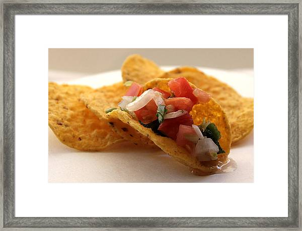 Pico De Gallo Framed Print