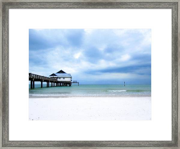 Pier 60 At Clearwater Beach Florida Framed Print