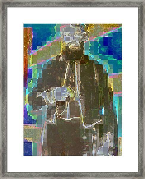 Pious Man Framed Print
