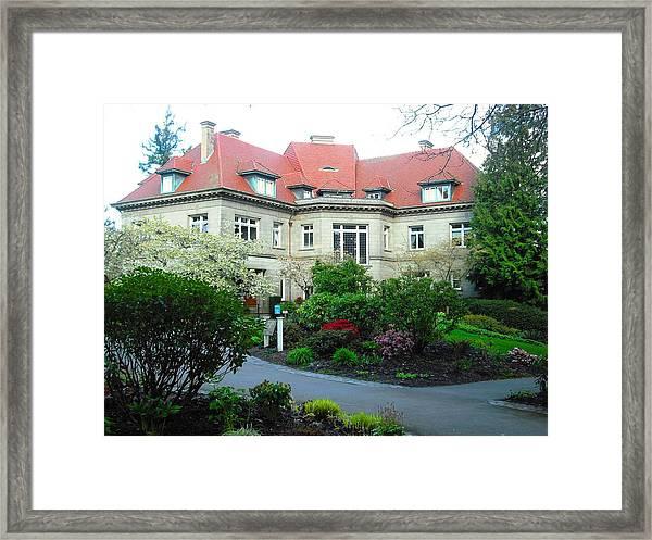 Pittock Mansion Framed Print
