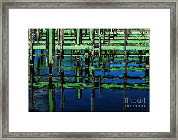 Plaid Framed Print