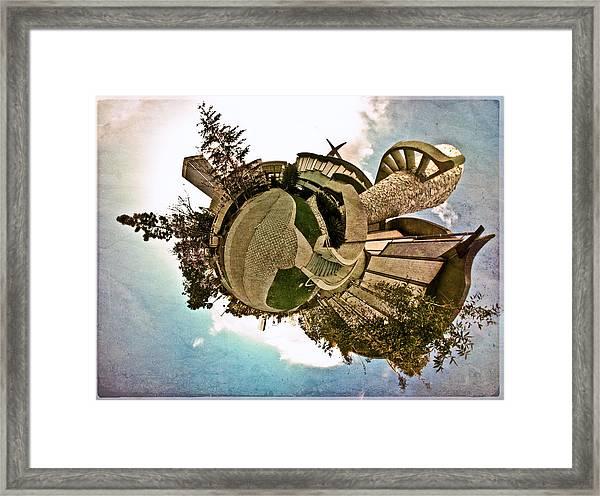 Planet Lacma Framed Print