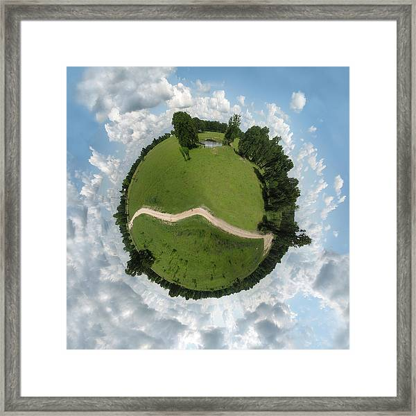 Planet Wee Path Framed Print