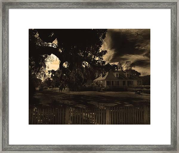 Plantation House  Framed Print
