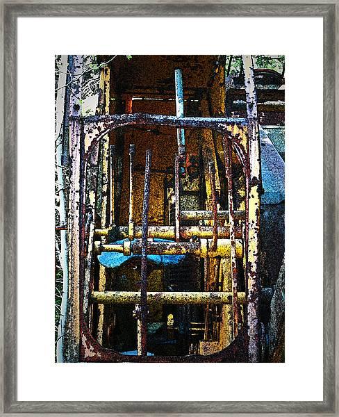 Pleasent Point Crane 8 Framed Print