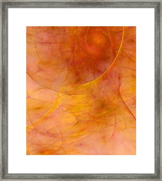 Poetic Emotions Abstract Expressionism Framed Print