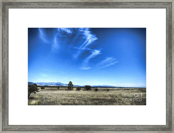 Point Of Pines - San Carlos Indian Reservation Framed Print