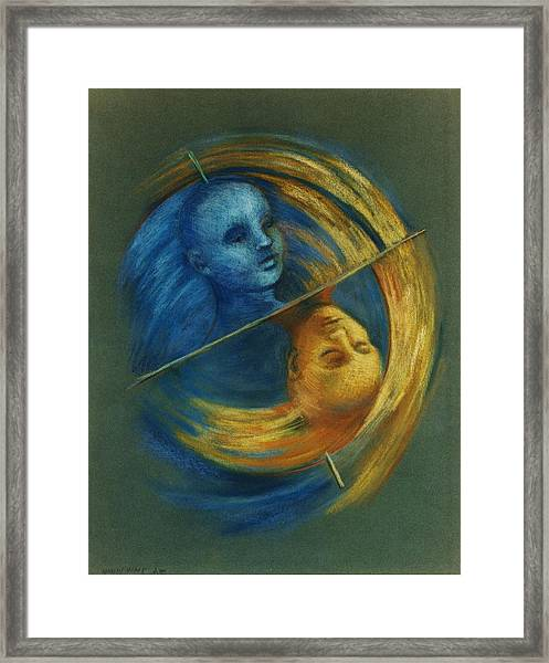 Polar Shift Framed Print