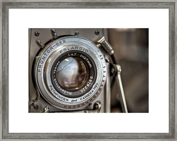 Polaroid Pathfinder Framed Print